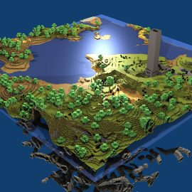 Minecraft-box-wallpapers